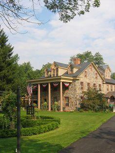 Conewago Manor Inn, Elizabethtown, PA  www.whereandwhen.com