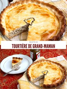 Tortiere Recipe, French Meat Pie, Cakes That Look Like Food, Salmon Pie, Pie Recipes, Cooking Recipes, Canadian Cuisine, Pork Dishes, Christmas Baking