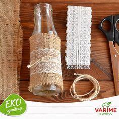 Váľajú sa vám doma prázdne sklenené fľaše? Zapojte svoju kreativitu a skúste ich využiť ako ozdobu domácnosti. Máte iné eko vychytávky?