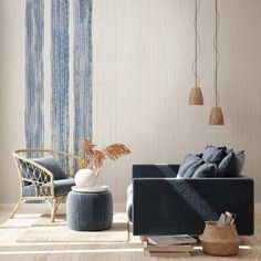 Textured Wallpaper, Textured Walls, Wall Paint Treatments, Wall Finishes, Tecno, Designer Wallpaper, Wall Design, Kimono, Interior Design