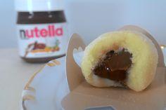 Brigadeiro de Leite Ninho e Leite Ninho recheado com Nutella