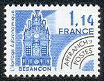 Besançon - L´horloge astronomique - Timbre de 1981