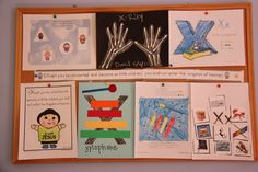 pictures of preschool craft for letter x | Snippets ... it's the little things.: Preschool Corner: XYZ ... the ...