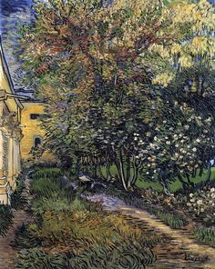 Vincent van Gogh: The Garden of Saint-Paul Hospital, 1889.