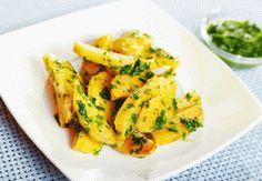 foodies-EM-Küche: lauwarme Zitronenkartoffeln - aus Deutschland schmecken super zu Lamm
