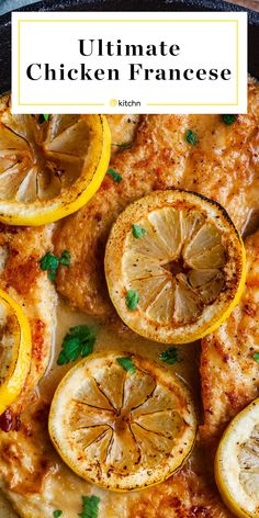 It's the ultimate chicken dinner for lemon-lovers. Chicken Recipes Continental, Chicken Francaise Recipe, Tartiflette Recipe, Chicken Cutlets, Chicken Cutlet Recipes, Chicken Breast Cutlet Recipe, Chicken Breasts, Chicken Tenders, Savory Tart