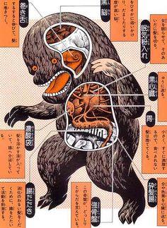 Shigeru Mizuki: illustrated guide to Yokai Monsters - japanese folklore #art