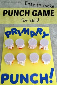 Pebbles and Piggytails: Making Life Meaningful: Tissue PUNCH Game for Kids