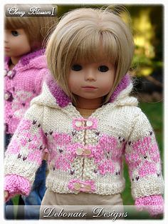 Ravelry: Doll Clothes Adorable sweater to crochet for your Springfield Doll or other 18 inch doll.