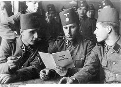 Hitler's Muslim Nazi soldiers - Bosnian SS regiment
