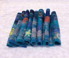 Nuno felted scarf nunofelt scarf fetled FREE SHIPPING by Felt4Soul, $108.00