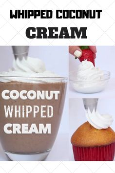 A light and fluffy frosting recipe that is entirely dairy free, vegan and paleo! Whipped coconut cream makes it possible to make a healthier whipped cream topping for your desserts. #coconut #whippedcream #dessert #recipe Keto Option | Sugar Free | Icing | Cake | Easy | Homemade | DIY | Video | Maple Syrup | 3 Ingredients | Fruit Dips | Berries