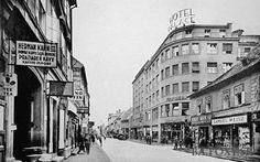 """Výsledky hľadania - """"Obchodna ulica"""" - Obchodná ulica - Pohľady na Bratislavu Bratislava, Old Street, Street View, Php, Squares, Times"""