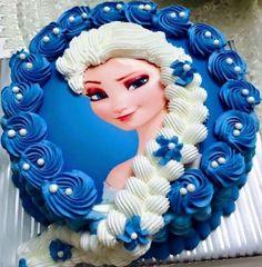 Elsa Frozen buttercr