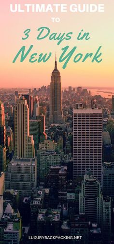 How To See New York In 3 Days Visiting New York in the near future? A comprehensive travel guide on how to see New York City in 3 days, including where to stay and best places to eat. The Ultimate Guide To 3 Days in New York City. Cool Places To Visit, Places To Travel, Travel Destinations, Places To Go, Wall Street, Voyage Usa, Voyage New York, Empire State, Brooklyn Bridge