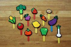 perler beads carrot - Google Search