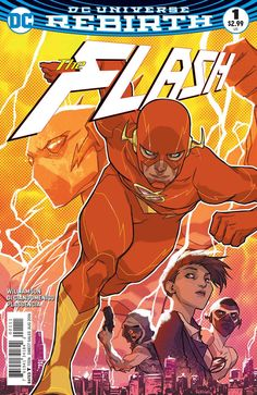 A fateful bolt of lightning strikes Central City once more! THE FLASH #1 #TheFlash #Flash