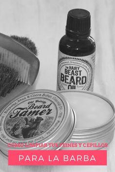 Cuidados para la barba: Aprende como limpiar tus peines y cepillos para la barba y desubre otros consejos para el cuidado y mantenimiento del vello facial Sexy Beard, Beard Trimming, Moda Masculina, Beard Oil, Beard Care, Facial Hair, Essential Oil Blends, Beard Styles, Beard Man