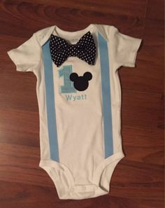 Baby Mickey Mouse birthday boy outfit, birthday boy outfit, Baby boy first birthday outfit, Boys First Birthday Shirt, Mickey Mouse 1st Birthday, Baby Mickey Mouse, Baby Boy Birthday, First Birthday Outfits, Festa Mickey Baby, Mickey Party, Baby Girl Halloween Costumes, Baby First Halloween
