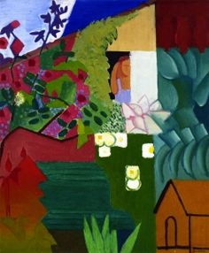 Garden with Dog House - André Lhote