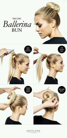 The Chic Ballerina Bun