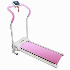 Confidence Power Plus Motorized Fitness Treadmill PINK - Fitness & Sports - Treadmills - Treadmills