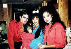 本田美奈子嬢&ラト姐&マイケル 1987年1月『PEPSI - The Chase編』のCM撮りのバックステージ