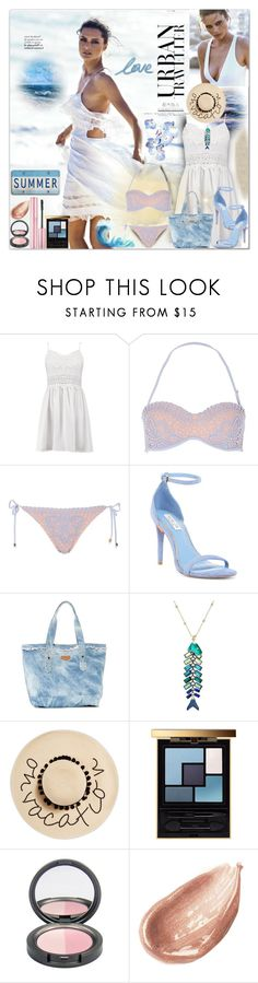 """What's Your Name? Who's That Girl?"" by luvmrb61899 ❤ liked on Polyvore featuring Boohoo, River Island, Rachel Zoe, Aimee Kestenberg, Betsey Johnson, August Hat, Yves Saint Laurent and Jouer"