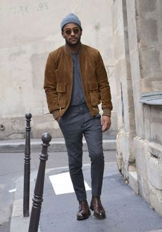24 Suede Jacket Outfits For Stylish Men - Styleoholic Stylish Men, Men Casual, Stylish Outfits, Street Style Inspiration, Stil Inspiration, Cool Bomber Jackets, Casual Jackets, Bomber Jacket Men, Men's Jackets