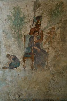 Fresco, Archeological Museum of Naples