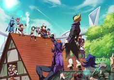 Tags: Fanart, Yu-Gi-Oh!, Pixiv, Yu-Gi-Oh! ZEXAL, Tsukumo Yuma, Mizuki Kotori, Kamishiro Ryoga, Astral, Fanart From Pixiv, Cathy, Tenjou Kaito, Todoroki Takashi, Fuya Okudaira, Omoteura Tokunosuke, Takeda Tetsuo, Kozuki Anna, III (Yu-Gi-Oh! ZEXAL), Gauche (Yu-Gi-Oh! ZEXAL), Droite (Yu-Gi-Oh! ZEXAL), IV (Yu-Gi-Oh! ZEXAL), V (Yu-Gi-Oh! ZEXAL), Pixiv Id 2128303, Dark Mist, ESPer Robin, Kamishiro Rio, Vector (Yu-Gi-Oh! ZEXAL), Alito, Mizael, Gilag, Durbe