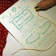 Calligraphy inspiration.