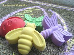 girlie bugs chalk
