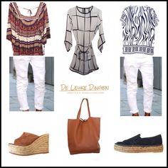 Fijne #moederdag!  N E W  I N  E S P A D R I L L E S  www.deleukedingen.nl #gaimo #espadrilles #handmade #spain #tuniek #tijgerprint #bag