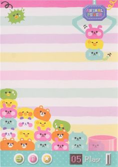 funny animal fever vidoe game block Note Pad by Q-Lia 4