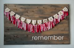 Life with Fingerprints:Valentine's Rag Banner...