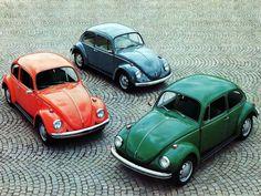 1971' VW Beetle Press Photo