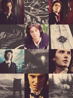 Sirius Black. Loving the snarl in the middle pic at the bottom. ;)