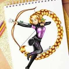 I am learning archery (by Kristina Webb)