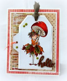 Stamping Bella Tiny Townie Autumn Loves Autumn rubber stamp. Click through to read the blog post, and see more peeks and inspiration from the new release. Release Date 3rd Sept 2016.