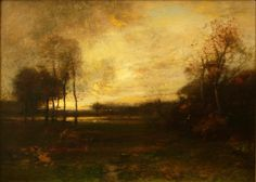 J. Francis Murphy, Indian Summer, 1895, Private Collection, NY