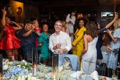 Get an exclusive inside look of Andy Cohen's star-studded baby shower before he becomes a daddy. Celebrity Baby Showers, Celebrity Babies, Housewives Of Atlanta, Strange Photos, A Star Is Born, My Favorite Things, Stars, American, Celebrities
