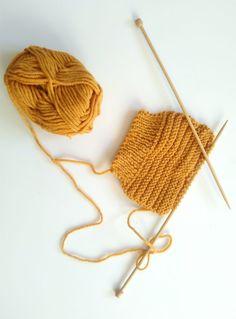 Tutoriel moufles bébé tricot naissance
