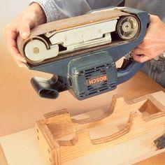 Stationary Belt Sander — Workshop Tip from The Family Handyman