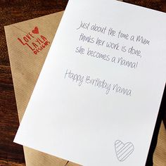 So true! Another cracking card from http://lovelayladesigns.co.uk  Happy Birthday to all the nannas!