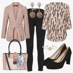 Professionelle business-kleidung. Business Attire For Young Women, Summer Business Attire, Formal Business Attire, Work Attire Women, Business Outfits Women, Business Fashion, Plus Size Business Attire, Office Outfits Women Casual, Casual Office Wear