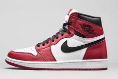 """Air Jordan 1 Retro High OG """"Chicago Bulls"""" Release Date"""