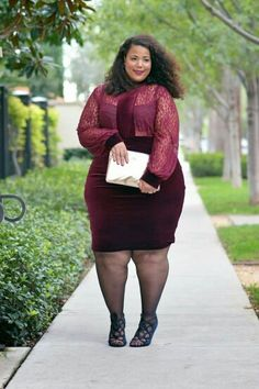 #slimmingbodyshapers To create the perfect overall style with wonderful supporting plus size lingerie come see... slimmingbodyshapers.com Some deep red and lovely Garner style