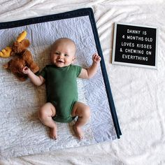 The Poet is designed for versatility. This black felt square letter board is the perfect accent piece for any home, business, or photo shoot. 3 Month Old Baby Pictures, Three Month Old Baby, Milestone Pictures, Monthly Baby Photos, Baby Boy Pictures, Baby Month By Month, 6 Month Baby Picture Ideas Boy, Baby Captions, Baby Messages