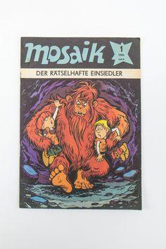 """DDR Museum - Museum: Objektdatenbank - """"Mosaik"""" Copyright: DDR Museum, Berlin. Eine kommerzielle Nutzung des Bildes ist nicht erlaubt, but feel free to repin it!"""